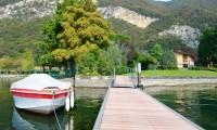 casa vacanza posto barca lago iseo